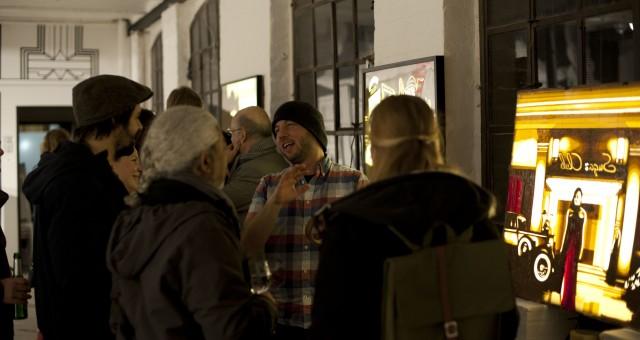 Erste Bilder von der Vernissage am 12. Februar