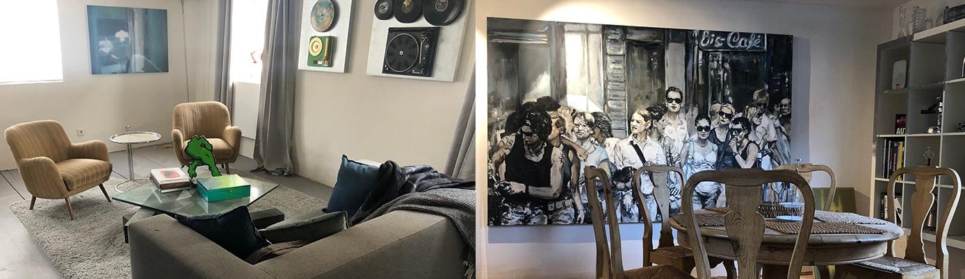 Wohnen im Kunsthaus
